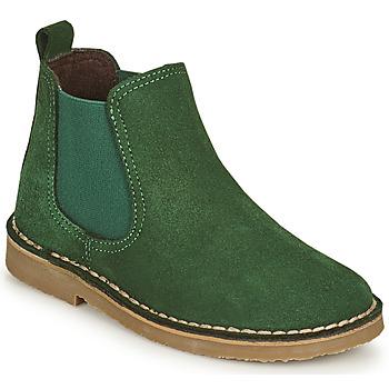 Schuhe Kinder Boots Citrouille et Compagnie HOVETTE Grün