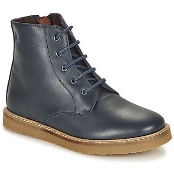 Schuhe Kinder Boots Citrouille et Compagnie HATINE Marine