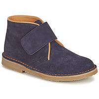 Schuhe Jungen Boots Citrouille et Compagnie NANUP Marine
