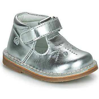 Schuhe Mädchen Ballerinas Citrouille et Compagnie OTALI Silbern