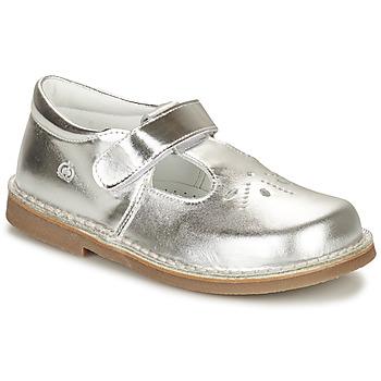 Schuhe Mädchen Ballerinas Citrouille et Compagnie OTAL Silbern