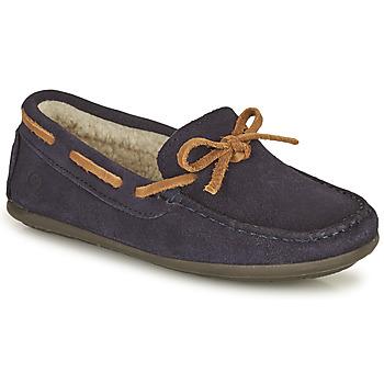 Schuhe Jungen Slipper Citrouille et Compagnie OUTIL Marine