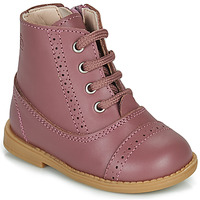 Schuhe Mädchen Boots Citrouille et Compagnie PUMBAE Rose