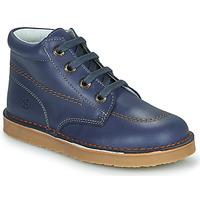 Schuhe Jungen Boots Citrouille et Compagnie PIMON Marine