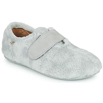 Schuhe Kinder Hausschuhe Citrouille et Compagnie LAFINOU Grau