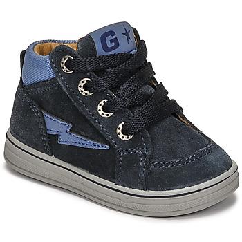 Schuhe Jungen Sneaker High Citrouille et Compagnie PALLA Marine
