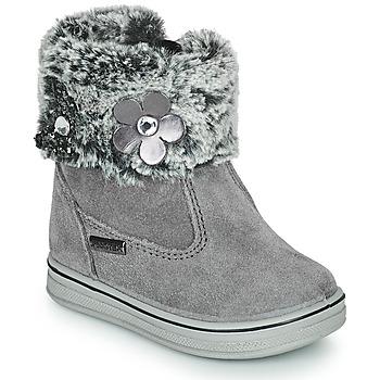 Schuhe Mädchen Boots Citrouille et Compagnie PALADOU Grau