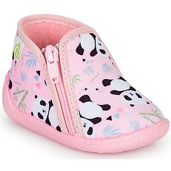 Schuhe Mädchen Hausschuhe Citrouille et Compagnie PACARONI Rose