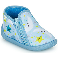 Schuhe Kinder Hausschuhe Citrouille et Compagnie PAVIOLI Himmelsfarbe