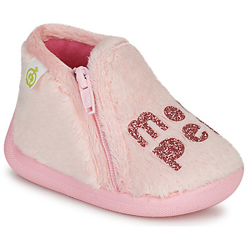 Schuhe Mädchen Hausschuhe Citrouille et Compagnie PRADS Rose