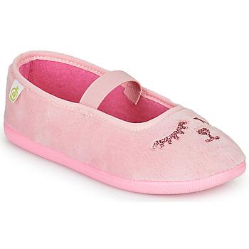 Schuhe Mädchen Hausschuhe Citrouille et Compagnie PIDDI Rose