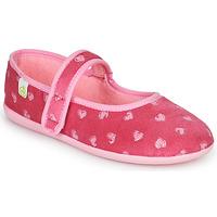 Schuhe Mädchen Hausschuhe Citrouille et Compagnie PIWOINE Rose