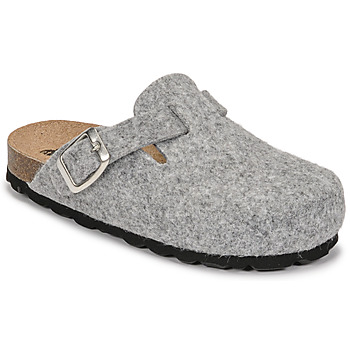 Schuhe Kinder Hausschuhe Citrouille et Compagnie POIWANA Grau