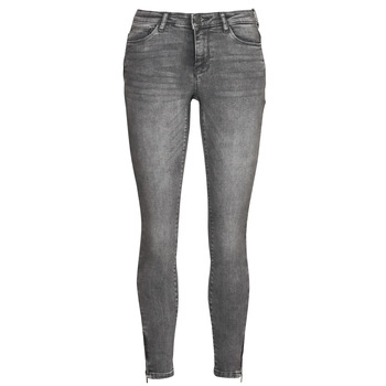 Kleidung Damen Slim Fit Jeans Noisy May NMKIMMY Grau