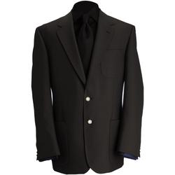 Kleidung Herren Jacken / Blazers Brook Taverner BR051 Schwarz