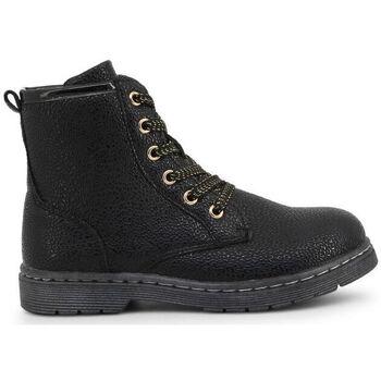 Schuhe Kinder Boots Shone - 3382-042 Schwarz