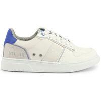 Schuhe Kinder Sneaker Low Shone - s8015-013 Weiss