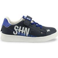 Schuhe Kinder Sneaker Low Shone - 208-116 Blau