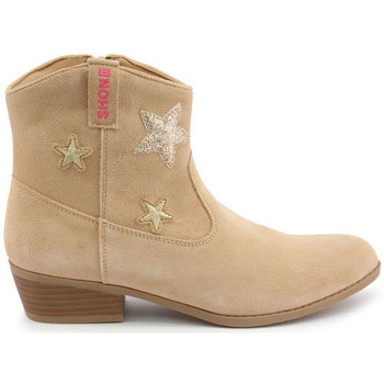 Schuhe Mädchen Low Boots Shone - 026799 Braun