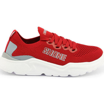 Schuhe Kinder Sneaker Low Shone - 155-001 Rot