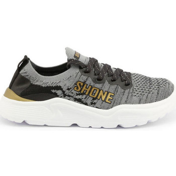 Schuhe Kinder Sneaker Low Shone - 155-001 Grau