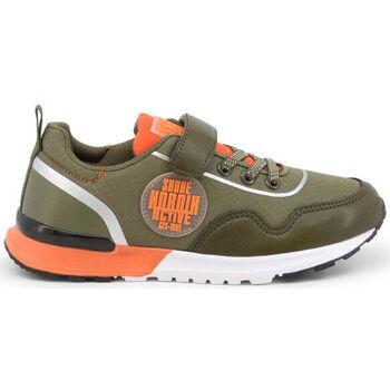 Schuhe Kinder Sneaker Low Shone - e9015-007 Grün