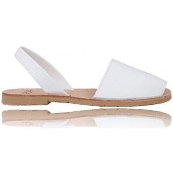 Schuhe Damen Sandalen / Sandaletten Ria Menorquinische Sandalen Abarcas Woman von  Pau 20002-S2 Weiss
