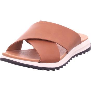Schuhe Damen Pantoffel Caprice Damen Pantolette COGNAC NAPPA 3