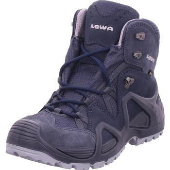 Schuhe Wanderschuhe Lowa - 520863 0917 stahlblau