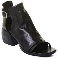Schuhe Damen Low Boots Rebecca White T0401  Rebecca White  D??msk?? kotn??kov?? boty z ?ern?? telec?? k??e,