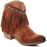 Schuhe Damen Low Boots Rebecca White T0601A  Rebecca White  D??msk?? ko?en?? kotn??kov?? boty s podpatkem v
