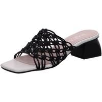 Schuhe Damen Pantoffel Marian Pantoletten 41570 schwarz