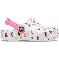Schuhe Kinder Pantoletten / Clogs Crocs CR.207000-WHI White