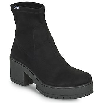 Schuhe Damen Klassische Stiefel Victoria ATALAIA CHELSEA Schwarz