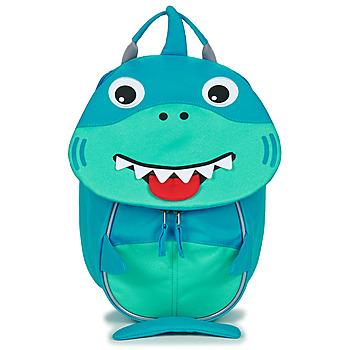 Taschen Kinder Rucksäcke Affenzahn SHARK Blau