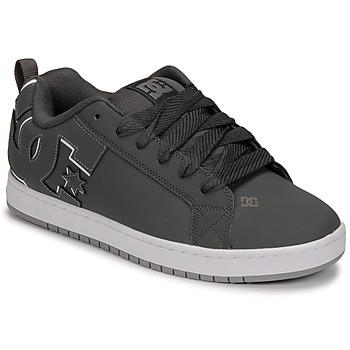 Schuhe Herren Skaterschuhe DC Shoes COURT GRAFFIK Grau / Schwarz