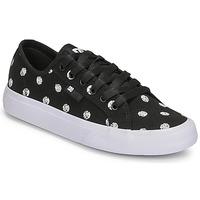 Schuhe Damen Sneaker Low DC Shoes MANUAL TXSE Schwarz / Weiss