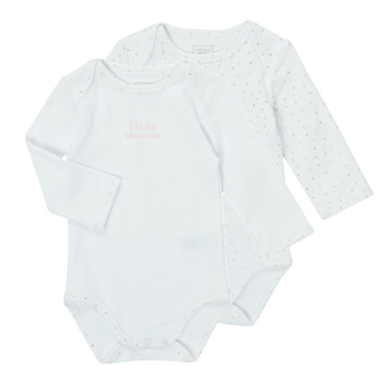 Kleidung Mädchen Pyjamas/ Nachthemden Carrément Beau ANTHRACITE Weiss