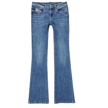 Kleidung Mädchen Bootcut Jeans Diesel LOWLEEH Blau