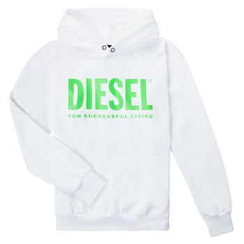 Kleidung Kinder Sweatshirts Diesel SDIVISION LOGOX OVER Weiss