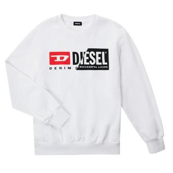 Kleidung Kinder Sweatshirts Diesel SGIRKCUTY OVER Weiss