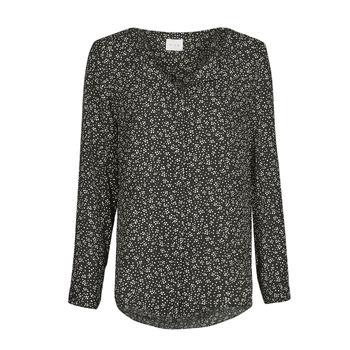 Kleidung Damen Tops / Blusen Vila VILUCY Schwarz