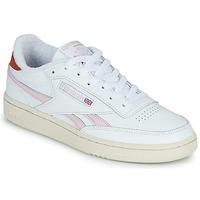 Schuhe Damen Sneaker Low Reebok Classic CLUB C REVENGE Weiss / Rose