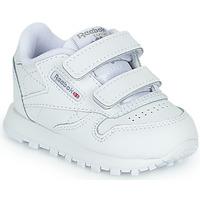 Schuhe Kinder Sneaker Low Reebok Classic CL LTHR 2V Weiss