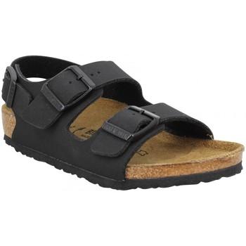 Schuhe Kinder Sandalen / Sandaletten Birkenstock 138319 Schwarz