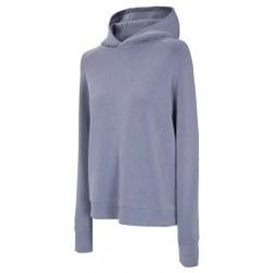 Kleidung Damen Sweatshirts 4F Womens Hoodie Blau