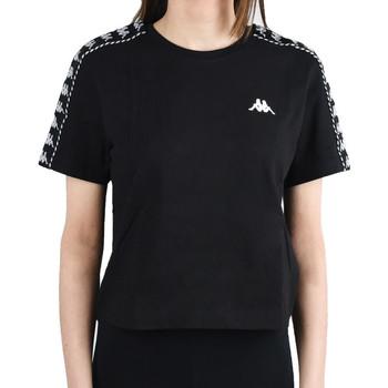 Kleidung Damen T-Shirts Kappa Inula T-Shirt Schwarz