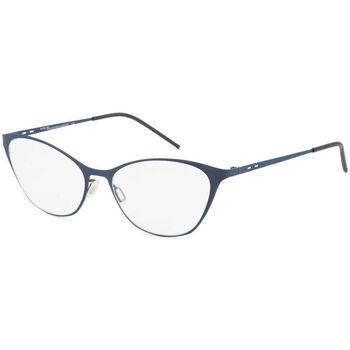 Uhren & Schmuck Damen Sonnenbrillen Italia Independent - 5215A Blau