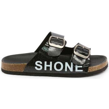 Schuhe Kinder Pantoffel Shone - 026798 Schwarz