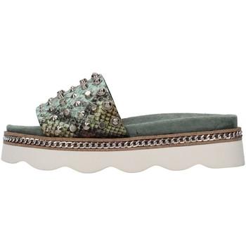 Schuhe Damen Pantoffel Alma Blue V21BL7103 GRÜN